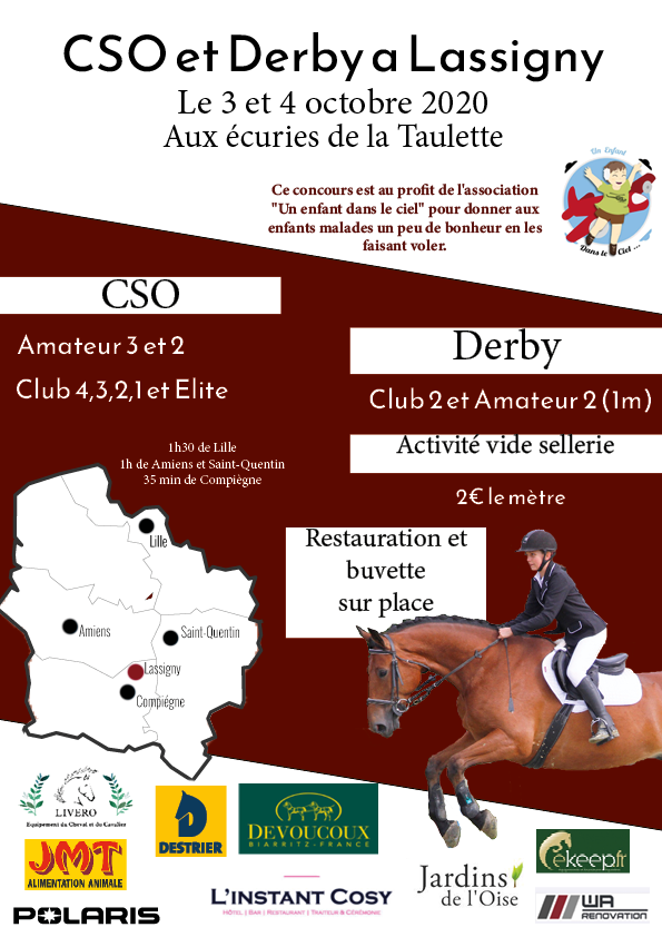 🐴 TOUS A VOS CALENDRIERS 🐴